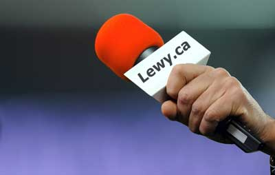 microphone for media inquiries about lewy body dementia -- photo/graphic
