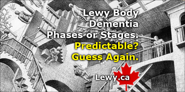 Stages or Phases of Lewy Body Dementia