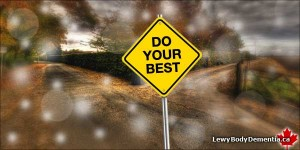 Photo/graphic: Do Your Best Caring for a Loved One with Lewy Body Dementia