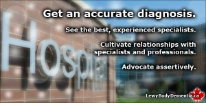 Get an accurate Lewy Body Dementia diagnosis -- photo/graphic